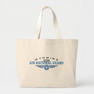 Wyoming Air National Guard Large Tote Bag
