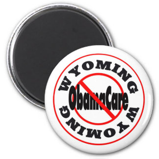 Wyoming Anti ObamaCare – November's Coming! 2 Inch Round Magnet
