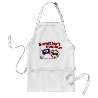 Wyoming Anti ObamaCare – November's Coming! Adult Apron