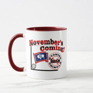 Wyoming Anti ObamaCare – November's Coming! Mug