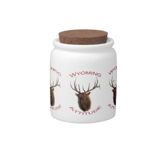 Wyoming Attitude Candy Jars