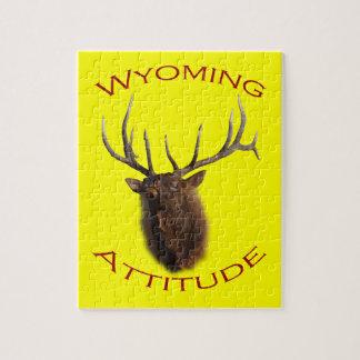 Wyoming Attitude Jigsaw Puzzle