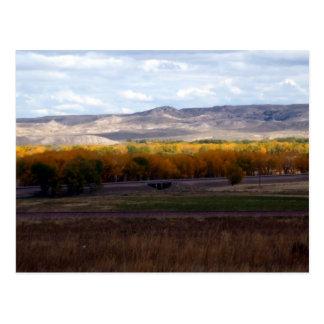 Wyoming Autumn Postcards