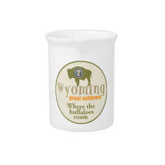 Wyoming Beverage Pitcher