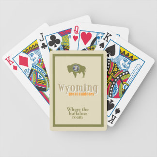 WYOMING BICYCLE PLAYING CARDS