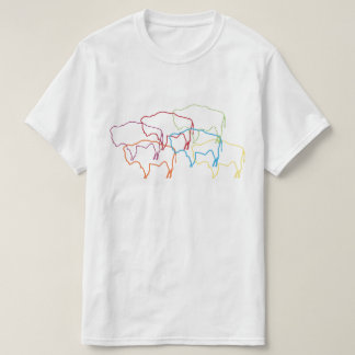 wyoming bison pride blur T-Shirt