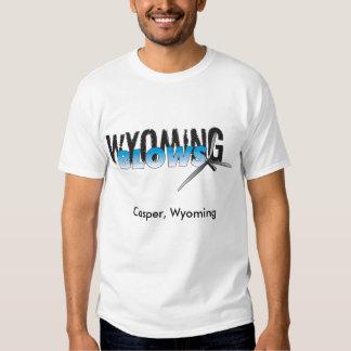 Wyoming Blows / /Casper, Wyoming T-shirts