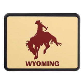 Wyoming Bucking Horse Trailer Hitch Covers