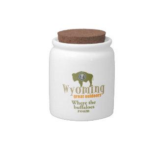 Wyoming Candy Jars