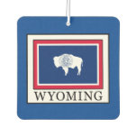 Wyoming Car Air Freshener