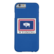 Wyoming Barely There iPhone 6 Case