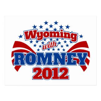 Wyoming con Romney 2012 Postal