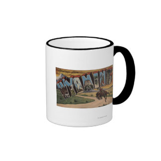Wyoming (Cowboy)Large Letter ScenesWyoming Mug