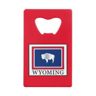 Wyoming Credit Card Bottle Opener