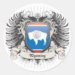 Wyoming Crest Sticker