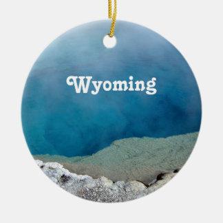 Wyoming Adorno Redondo De Cerámica