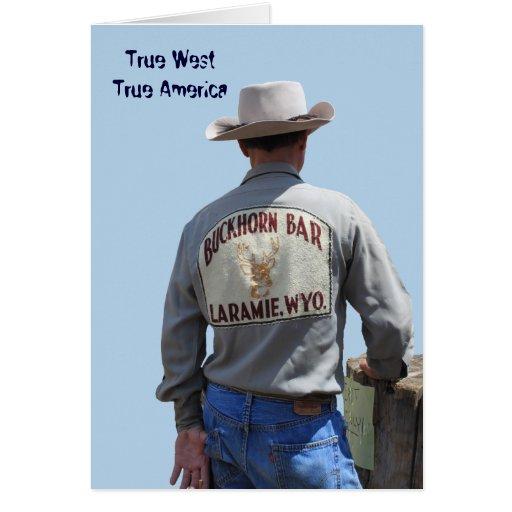 Wyoming del oeste verdadero toda la tarjeta de fel