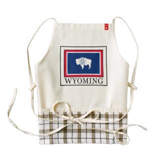 Wyoming Delantal Zazzle HEART