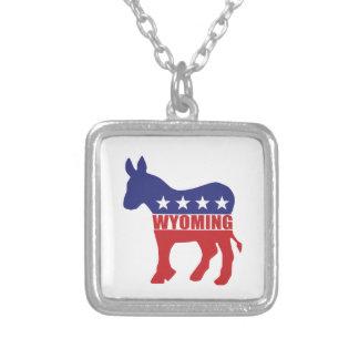 Wyoming Democrat Donkey Jewelry