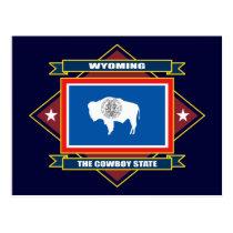 Wyoming Diamond Postcard