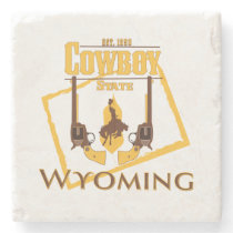 Wyoming Drink Coaster