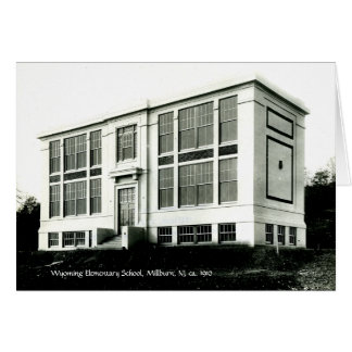 Wyoming Elementary School Millburn NJ c 1910 Card