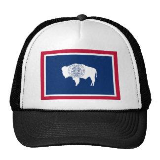 Wyoming, Estados Unidos señala por medio de una ba Gorras