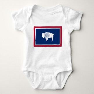 Wyoming Flag Baby Bodysuit
