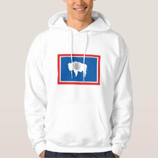 Wyoming FLAG International Hooded Sweatshirts