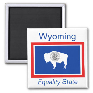 Wyoming Flag Magnet