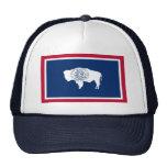 Wyoming Flag Mesh Hat