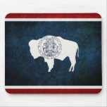 Wyoming Flag Mousepads