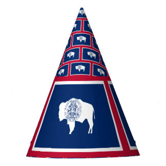 Wyoming Flag Party Hat