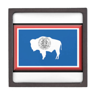 Wyoming Flag Premium Gift Boxes