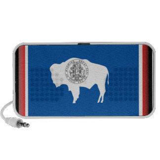 Wyoming Flag Mini Speaker