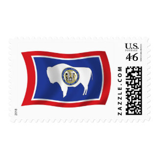 Wyoming Flag Stamps