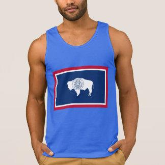 Wyoming Flag Tank Top