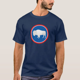 Wyoming Flag Theme 00 T-Shirt