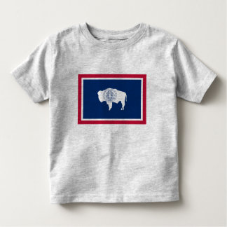 Wyoming Flag Toddler T-shirt