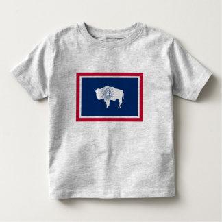 Wyoming Flag Toddler T-shirt