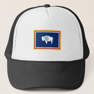 Wyoming Flag Trucker Hat