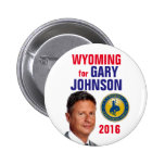 Wyoming for Gary Johnson Button