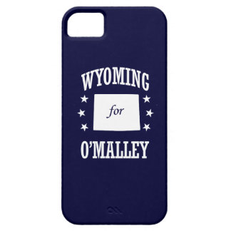 WYOMING FOR O'MALLEY iPhone 5 CASES