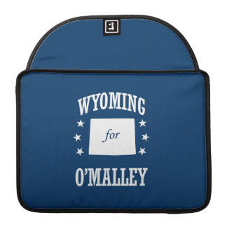 WYOMING FOR O'MALLEY MacBook PRO SLEEVES