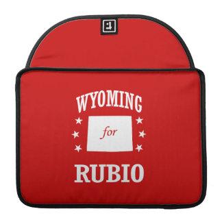WYOMING FOR RUBIO SLEEVES FOR MacBooks
