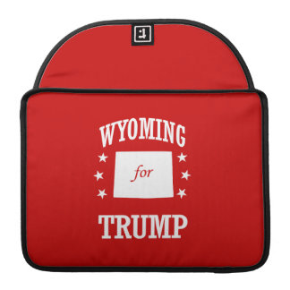 WYOMING FOR TRUMP SLEEVE FOR MacBooks