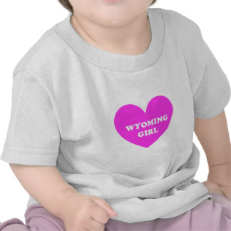 Wyoming Girl T-shirts
