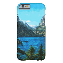 Wyoming Grand Teton Mountains Abstract Barely There iPhone 6 Case