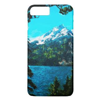 Wyoming Grand Teton Mountains Abstract iPhone 8 Plus/7 Plus Case