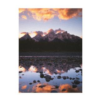 Wyoming, Grand Teton National Park 2 Canvas Print